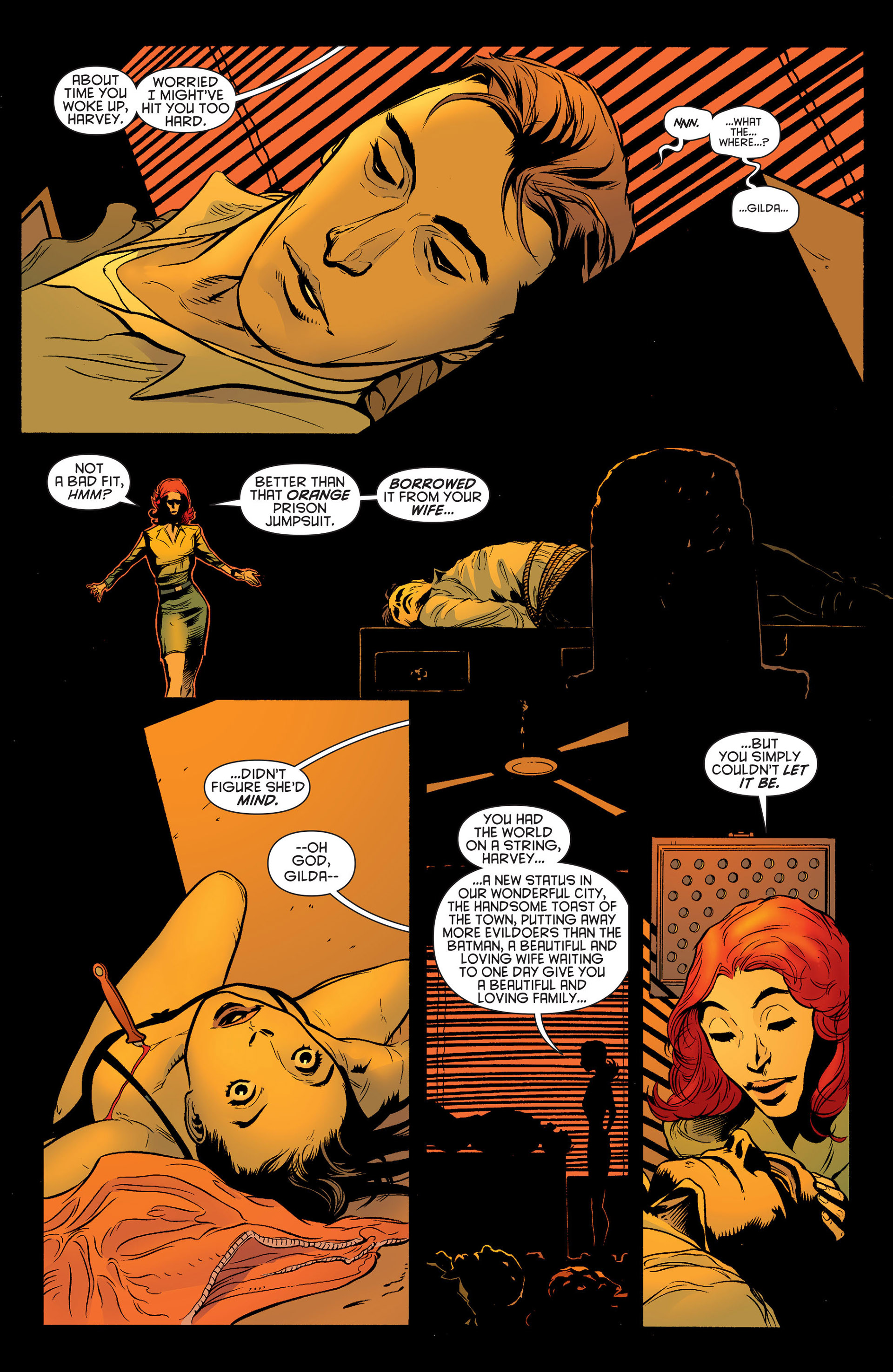 Read online Batman and Robin (2011) comic -  Issue #24 - Batman and Two-Face - 15