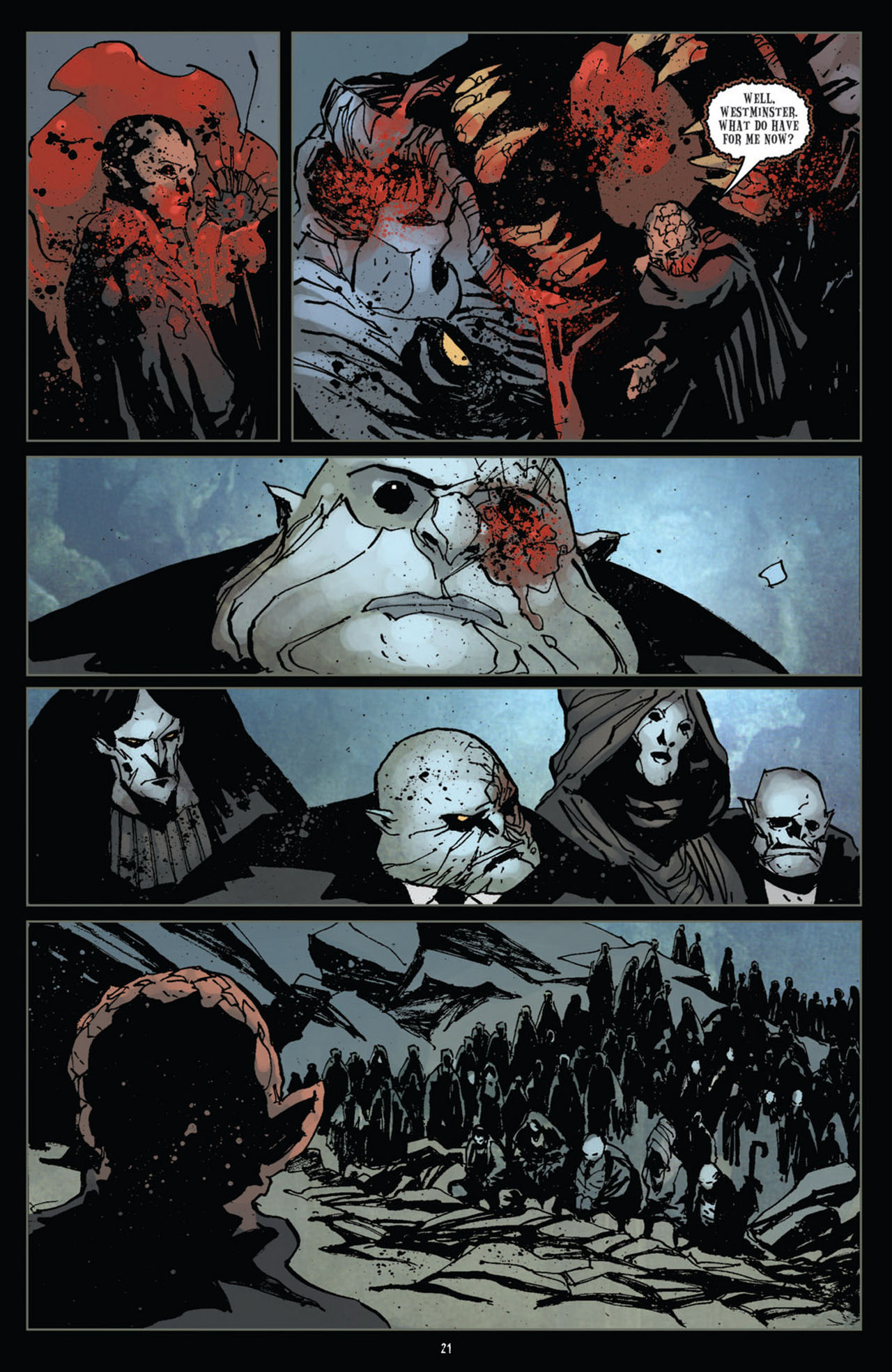 Read online 30 Days of Night (2011) comic -  Issue #12 - 22