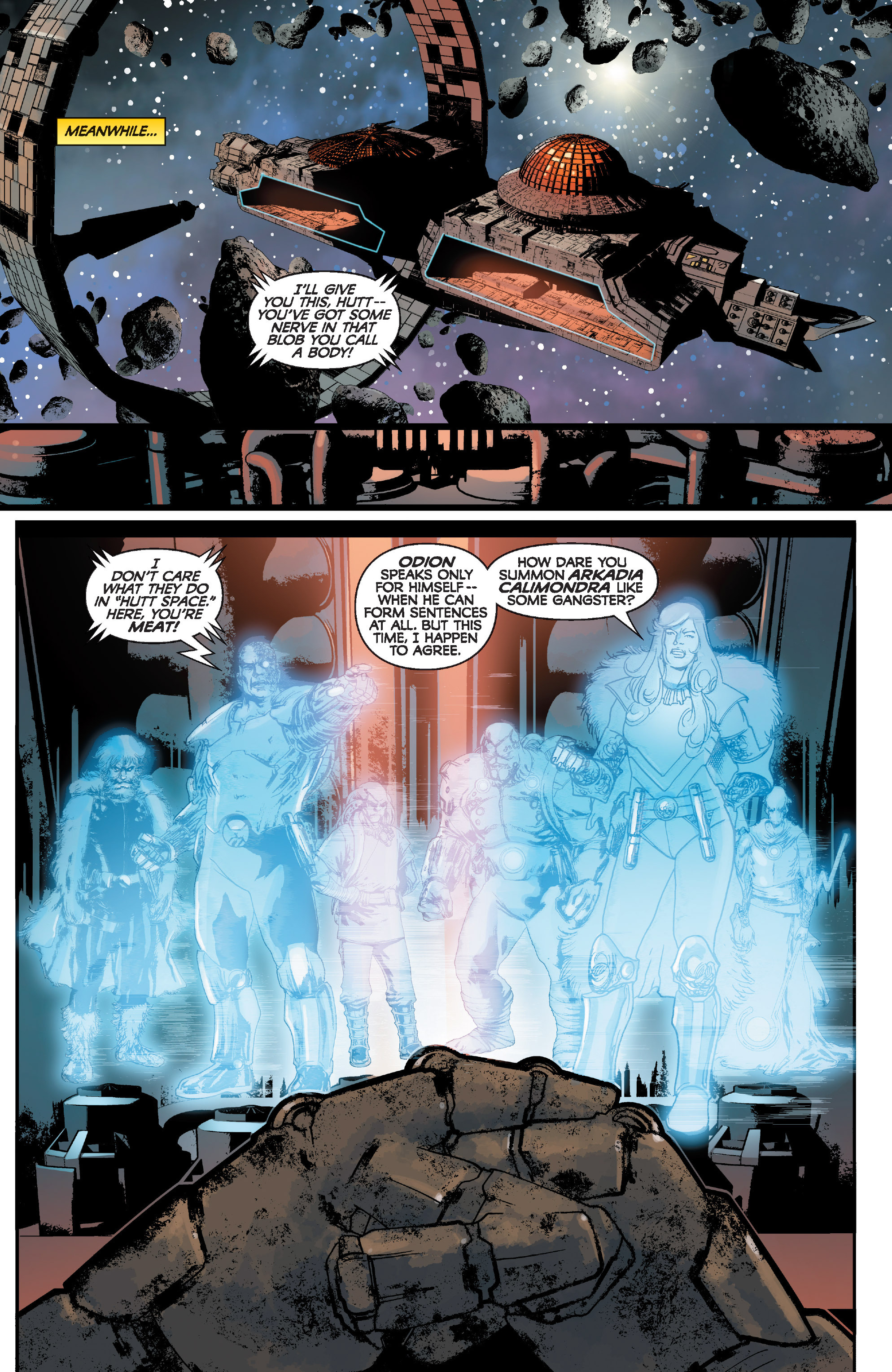 Read online Star Wars: Knight Errant - Deluge comic -  Issue #1 - 22