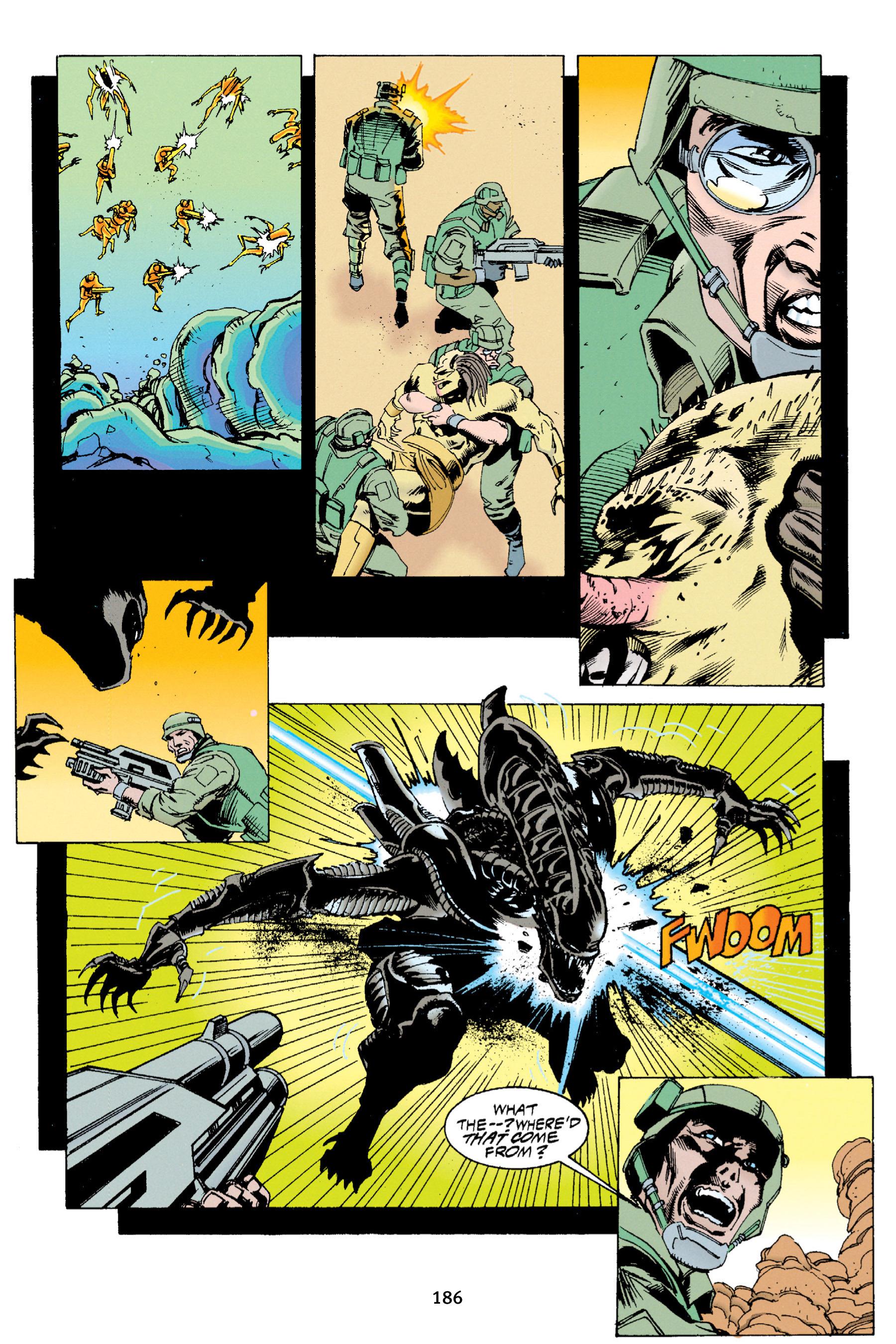 Read online Aliens vs. Predator Omnibus comic -  Issue # _TPB 1 Part 2 - 84