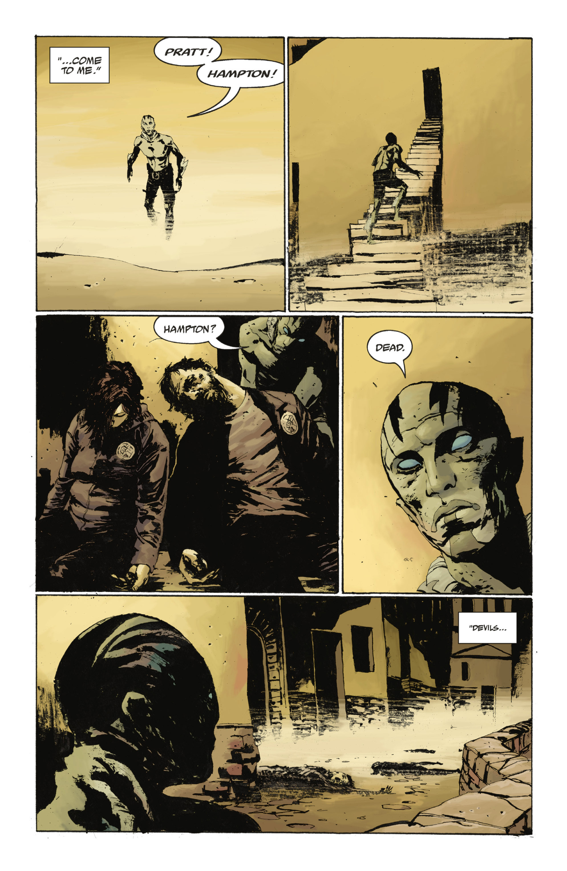 Read online Abe Sapien: The Drowning comic -  Issue #Abe Sapien: The Drowning _TPB - 46