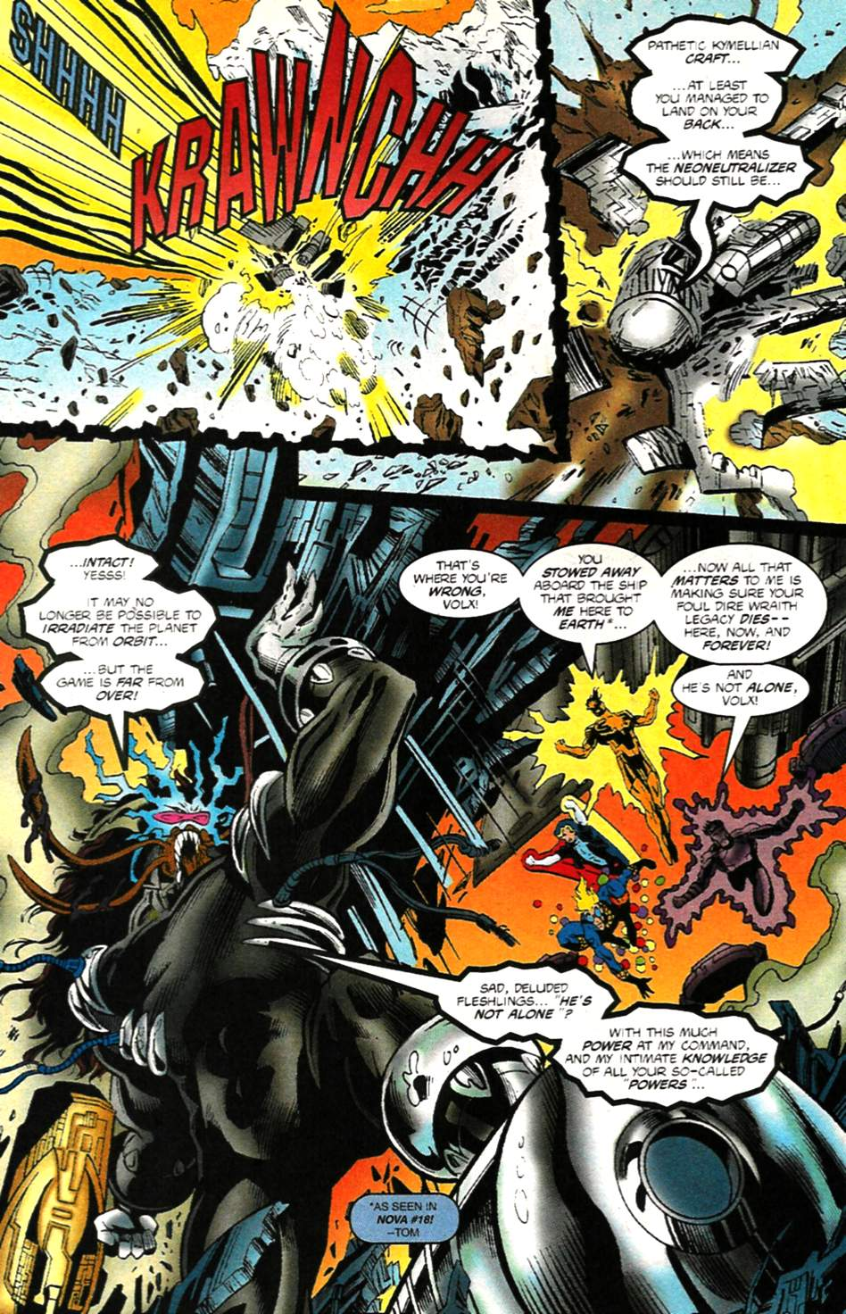 The New Warriors Issue #75 #79 - English 23