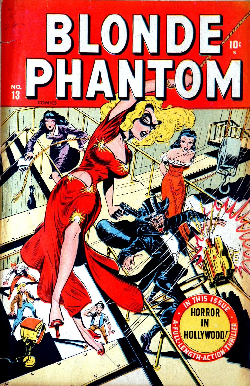 Blonde Phantom Comics 13 Page 1