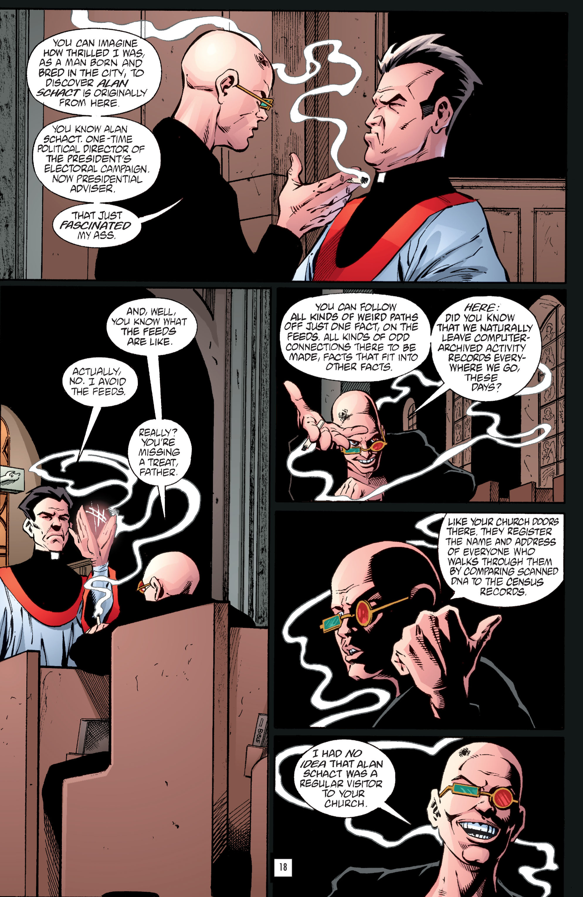 Read online Transmetropolitan comic -  Issue #34 - 19