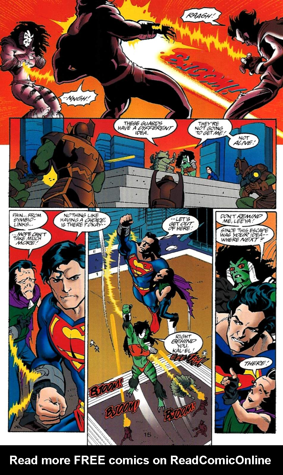 Read online Adventures of Superman (1987) comic -  Issue #529 - 16