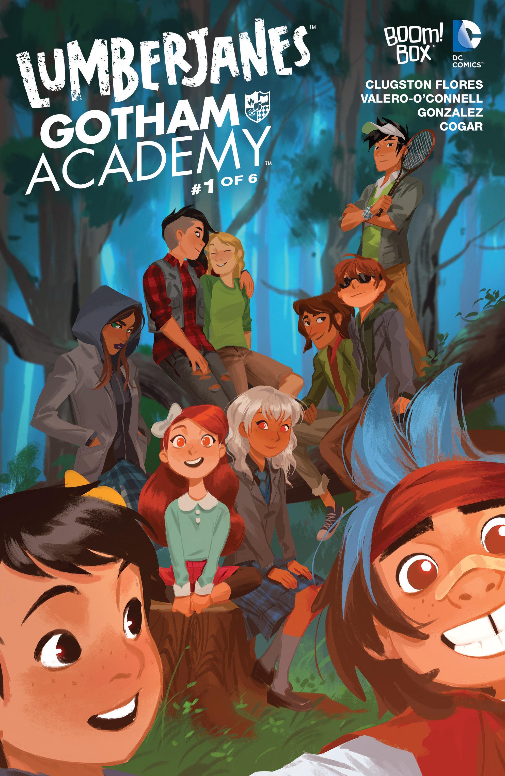 Lumberjanes/Gotham Academy 1 Page 1