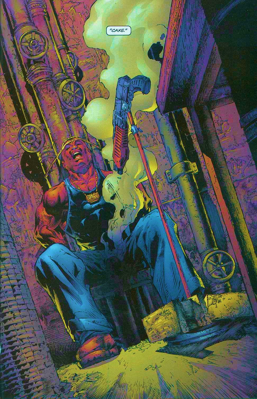 Read online Overkill: Witchblade/Aliens/Darkness/Predator comic -  Issue #1 - 18