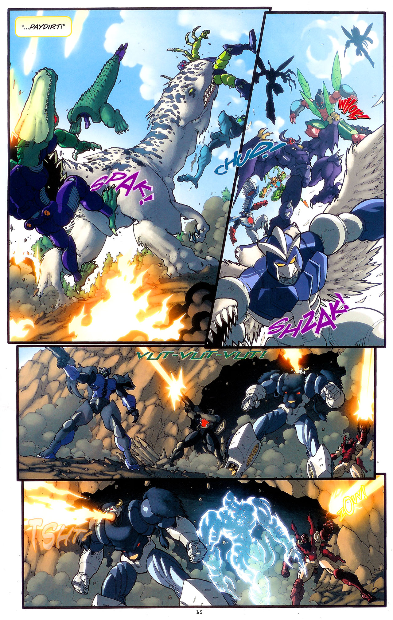 Read online Transformers: Beast Wars: The Ascending comic -  Issue #2 - 18