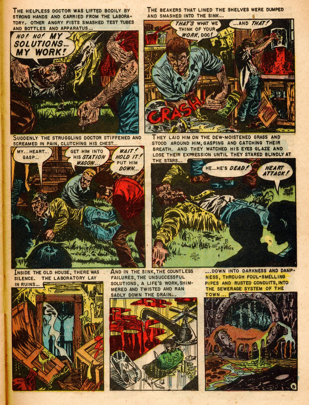 Read online Shock SuspenStories comic -  Issue #9 - 25