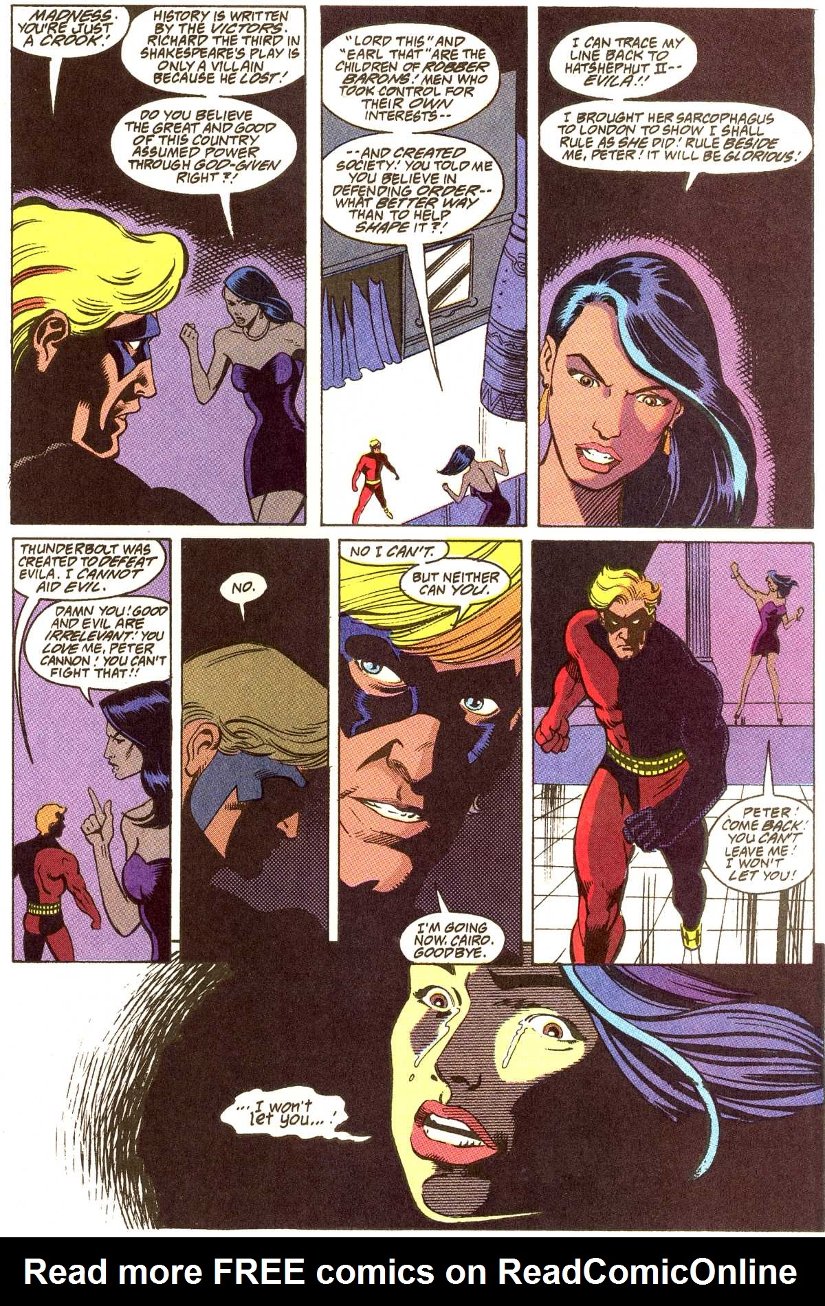 Read online Peter Cannon--Thunderbolt (1992) comic -  Issue #12 - 21