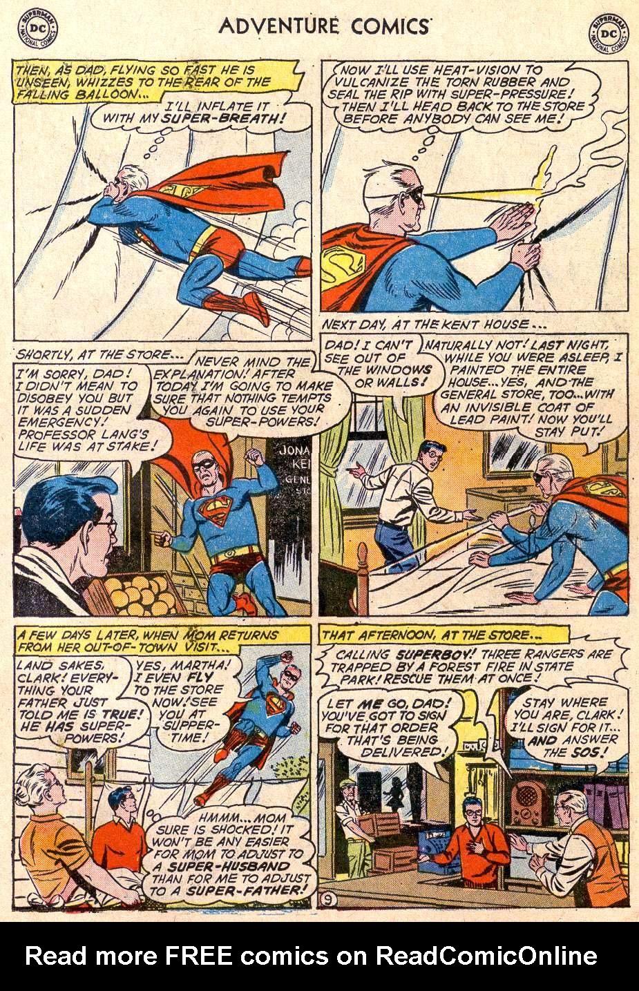Read online Adventure Comics (1938) comic -  Issue #289 - 11