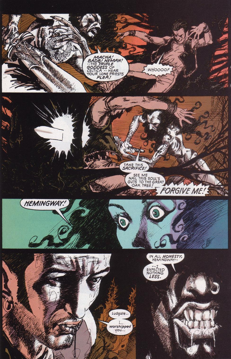Read online Druid comic -  Issue #4 - 8