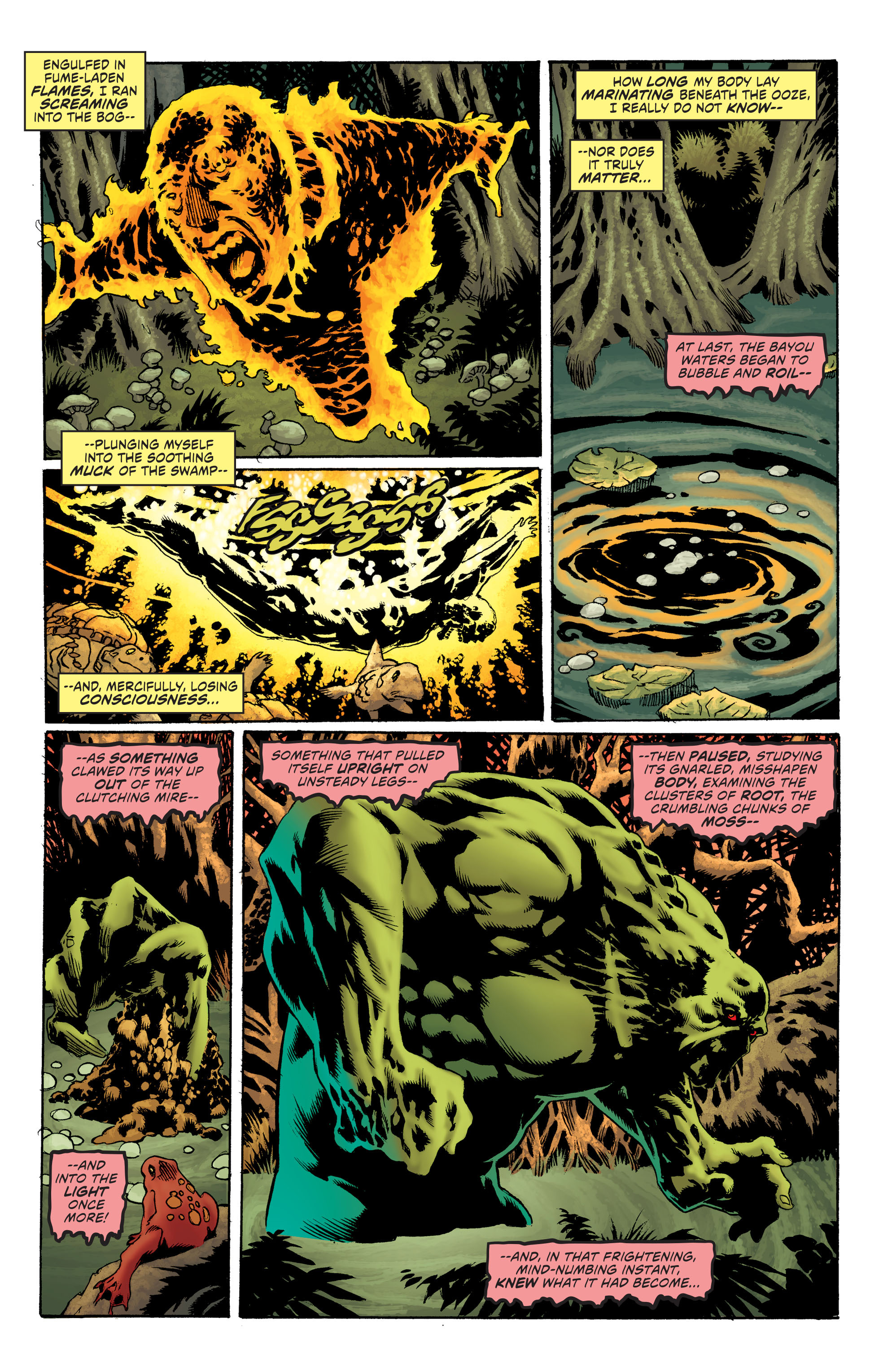 Read online Convergence Swamp Thing comic -  Issue #1 - 4