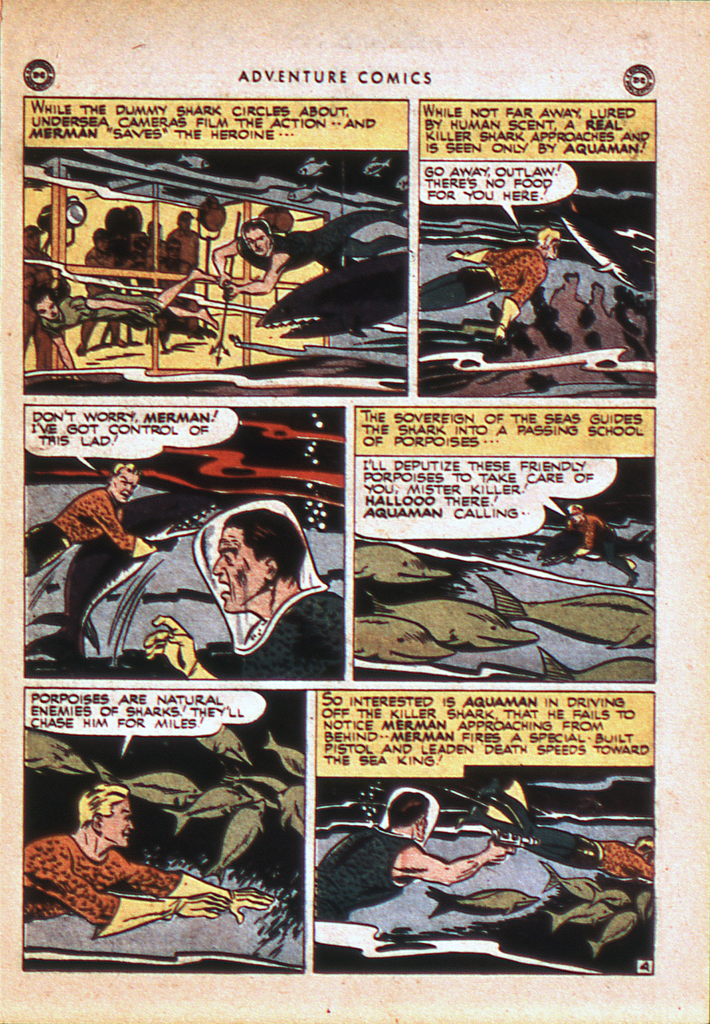 Read online Adventure Comics (1938) comic -  Issue #113 - 16