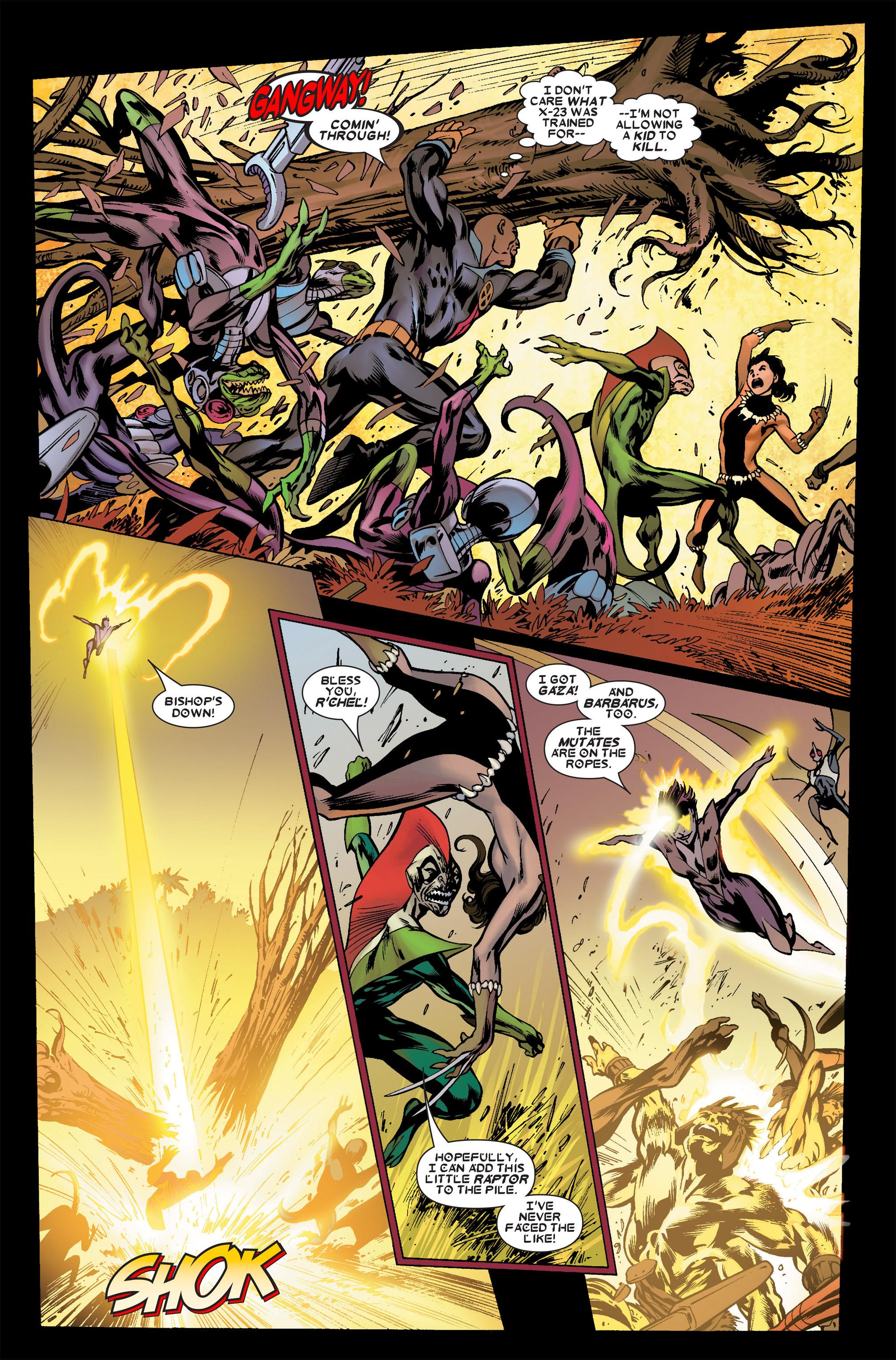 Read online Uncanny X-Men (1963) comic -  Issue #458 - 14