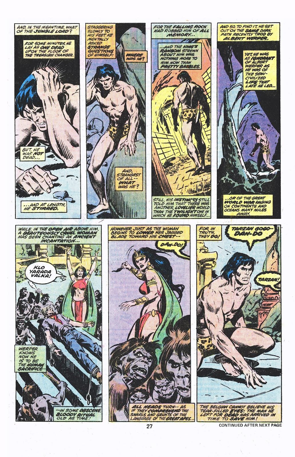 Tarzan (1977) issue 3 - Page 15