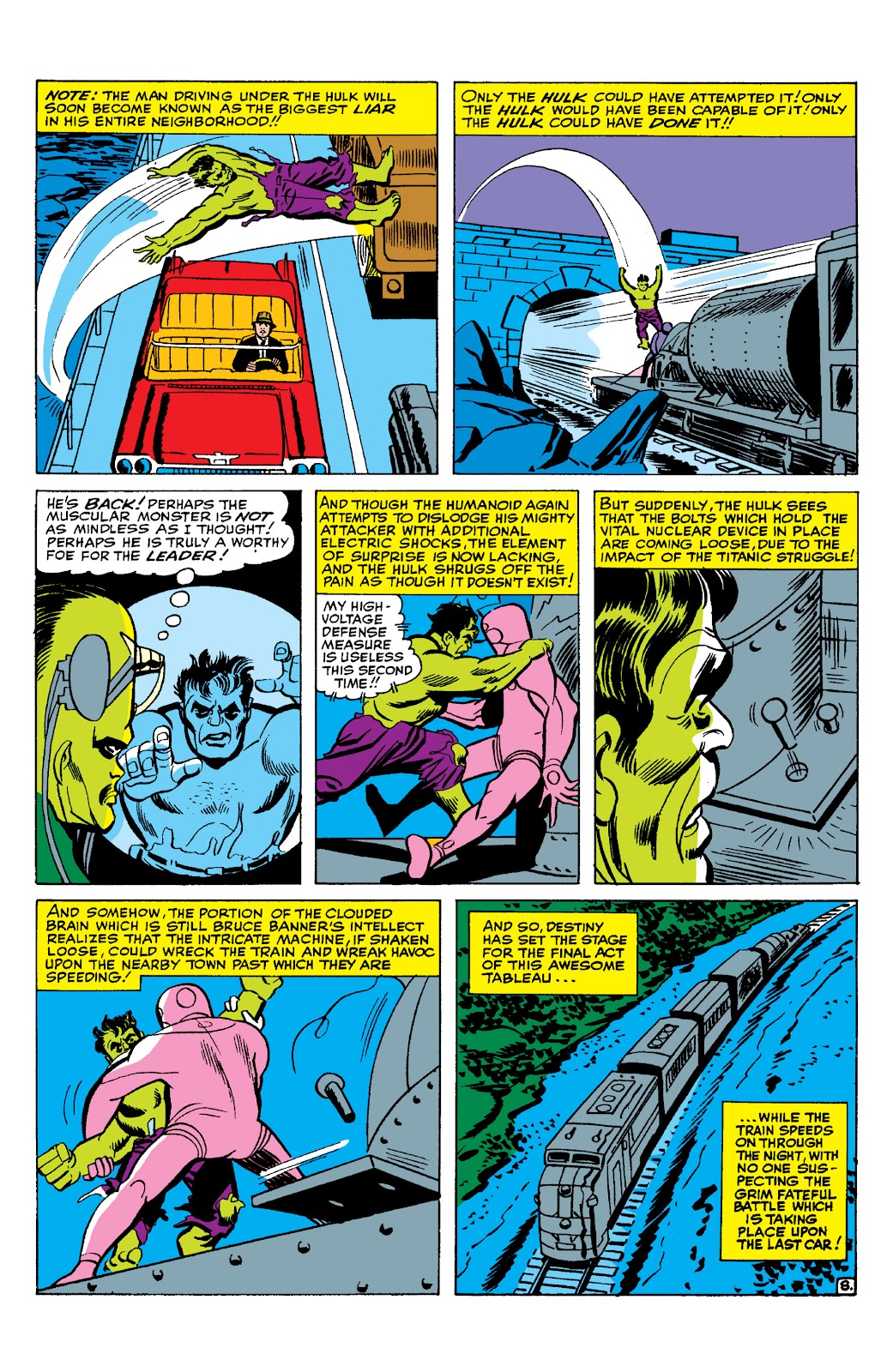 Read online Marvel Masterworks: The Incredible Hulk comic -  Issue # TPB 2 (Part 1) - 65
