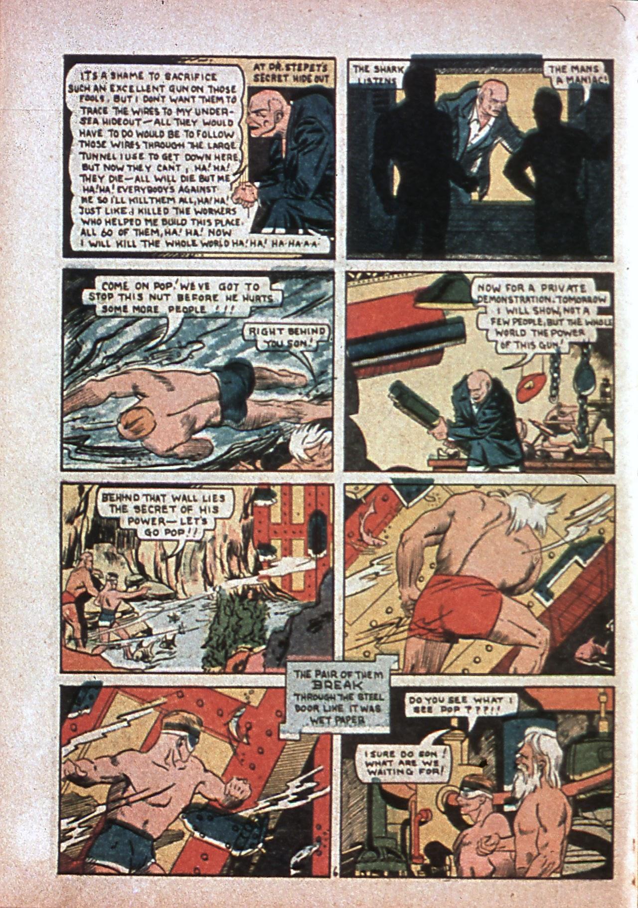 Read online Amazing Man Comics comic -  Issue #7 - 65