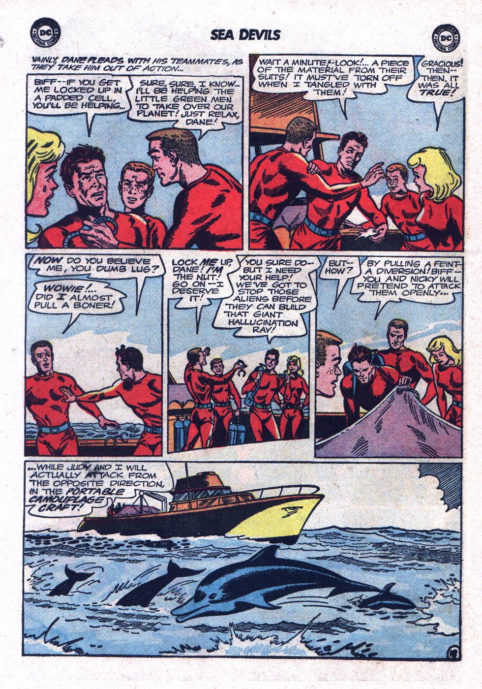 Read online Sea Devils comic -  Issue #17 - 26