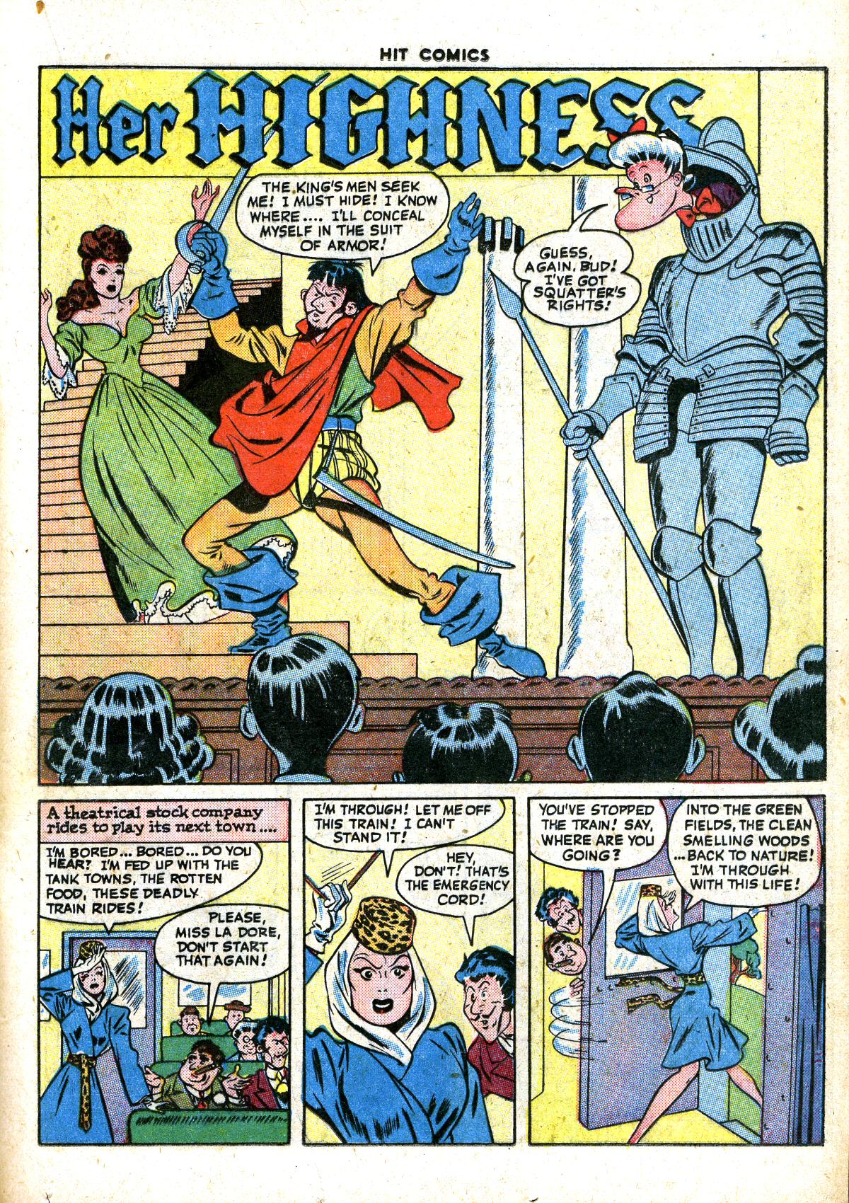 Read online Hit Comics comic -  Issue #41 - 25