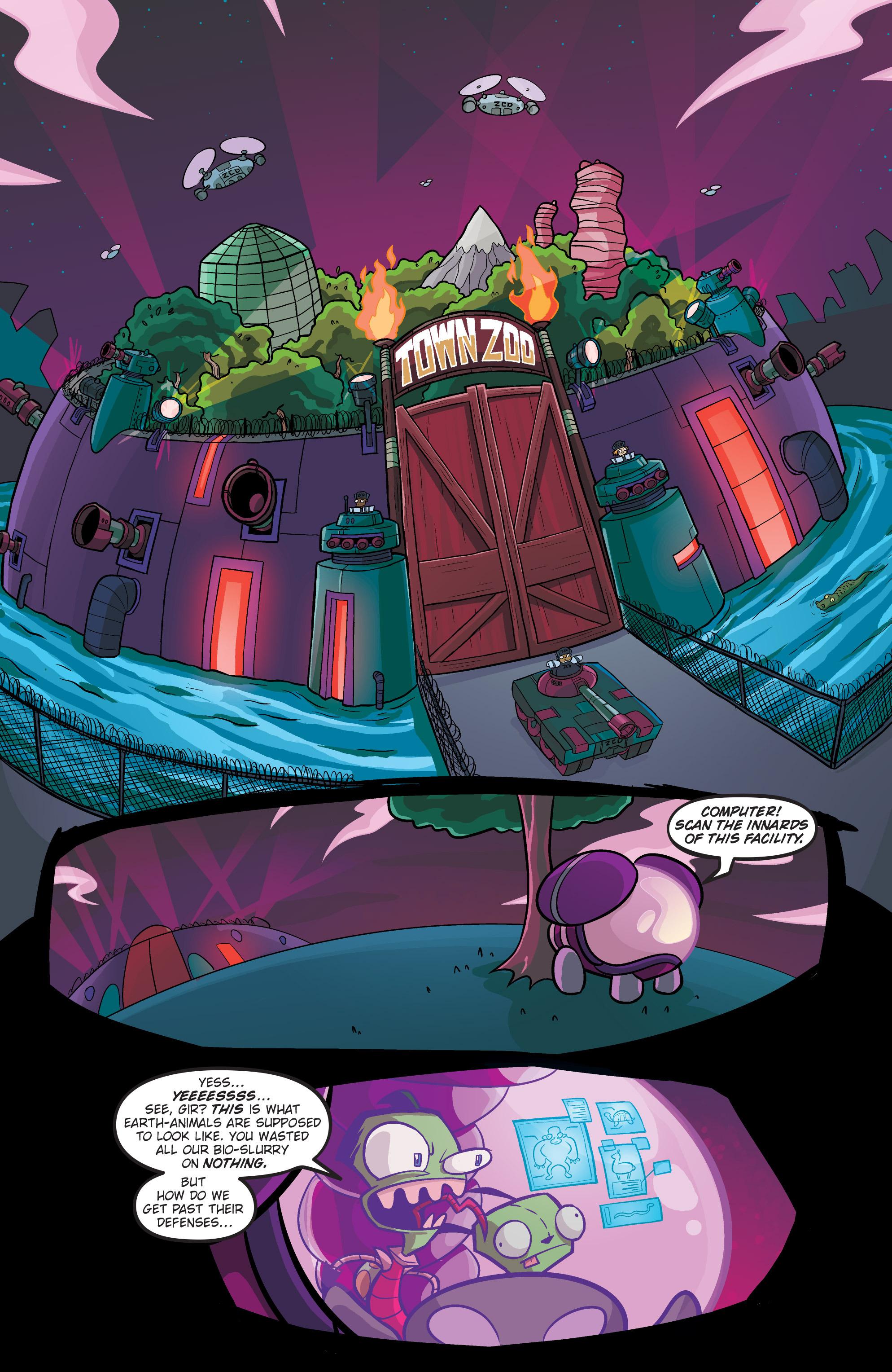 Read online Invader Zim comic -  Issue #19 - 18