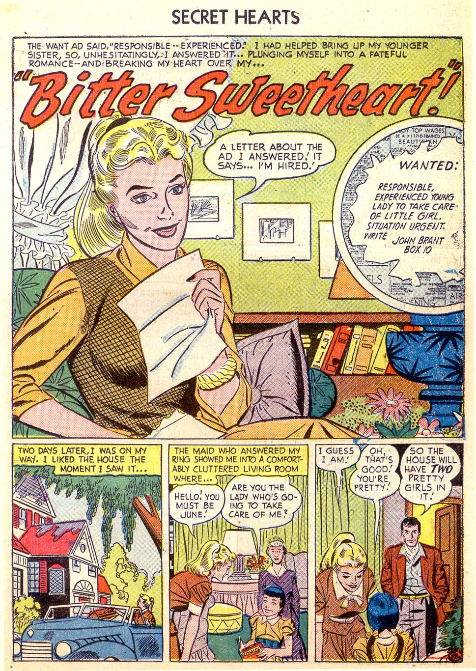 Read online Secret Hearts comic -  Issue #26 - 19