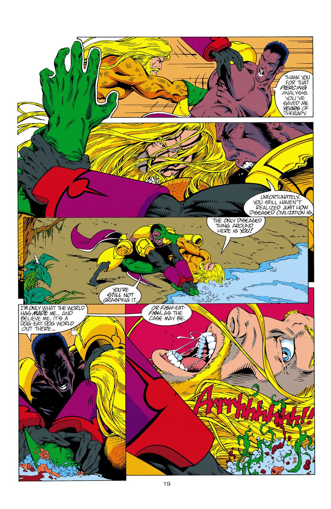 Read online Aquaman (1994) comic -  Issue #2 - 20
