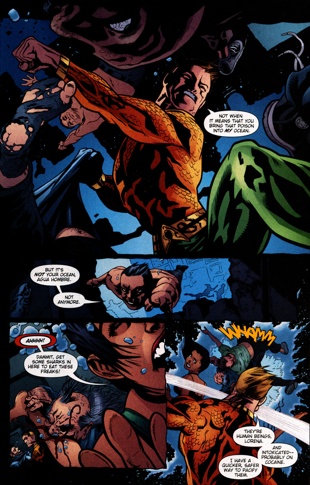Read online Aquaman (2003) comic -  Issue #25 - 18
