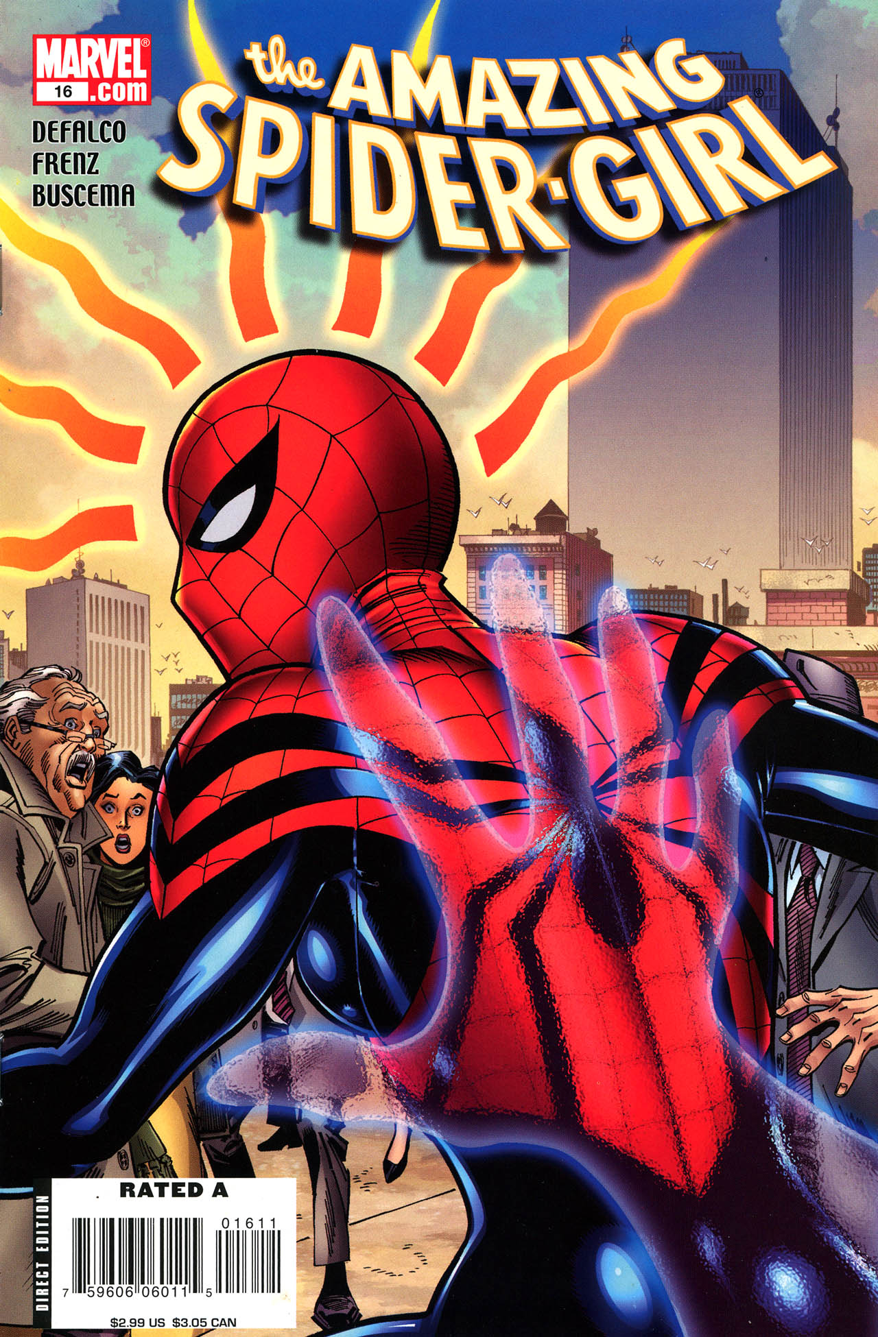 Read online Amazing Spider-Girl comic -  Issue #16 - 1