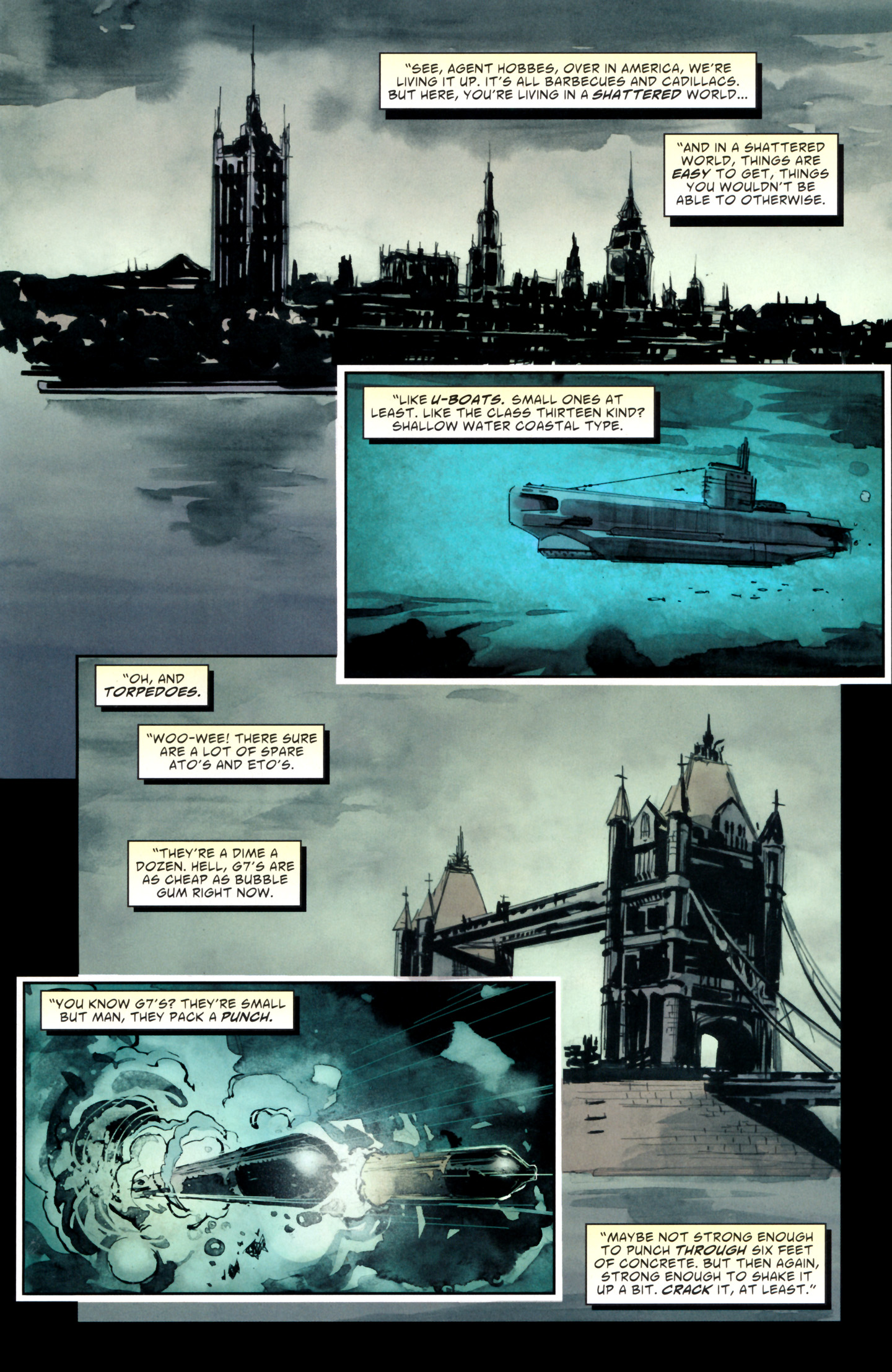 Read online American Vampire: Lord of Nightmares comic -  Issue #1 - 9