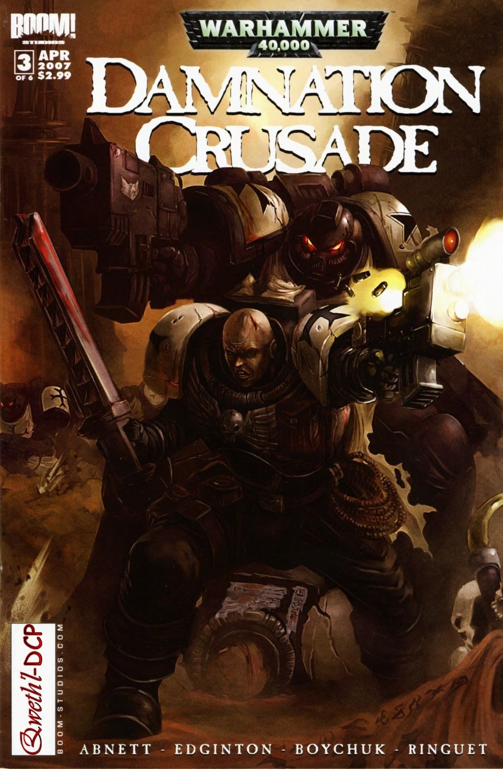 Warhammer 40,000: Damnation Crusade 3 Page 1