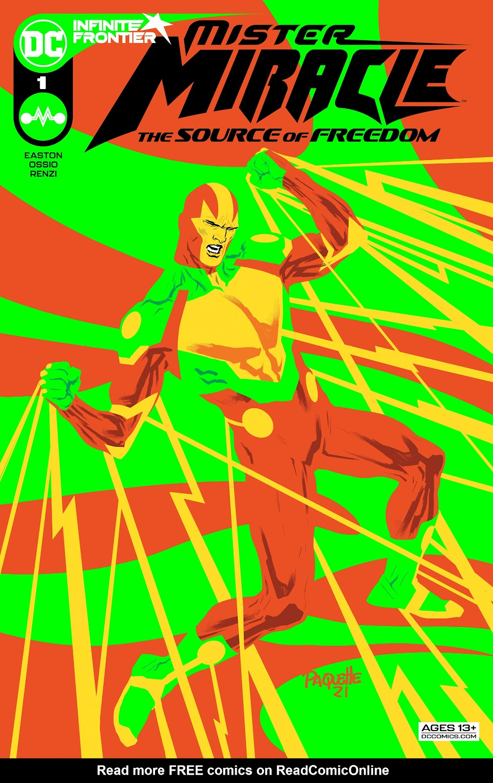 Mister Miracle (2021) issue The_Source_of_Freedom - Page 1