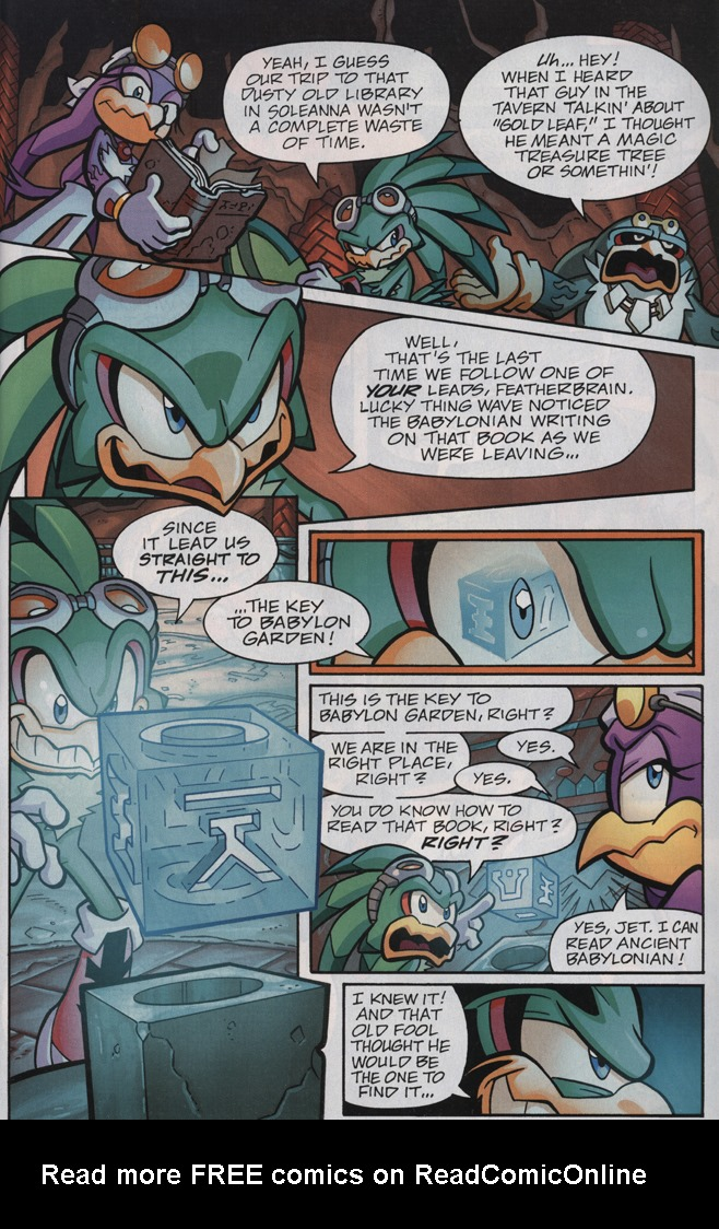 Read online Sonic Universe comic -  Issue #33 - 5
