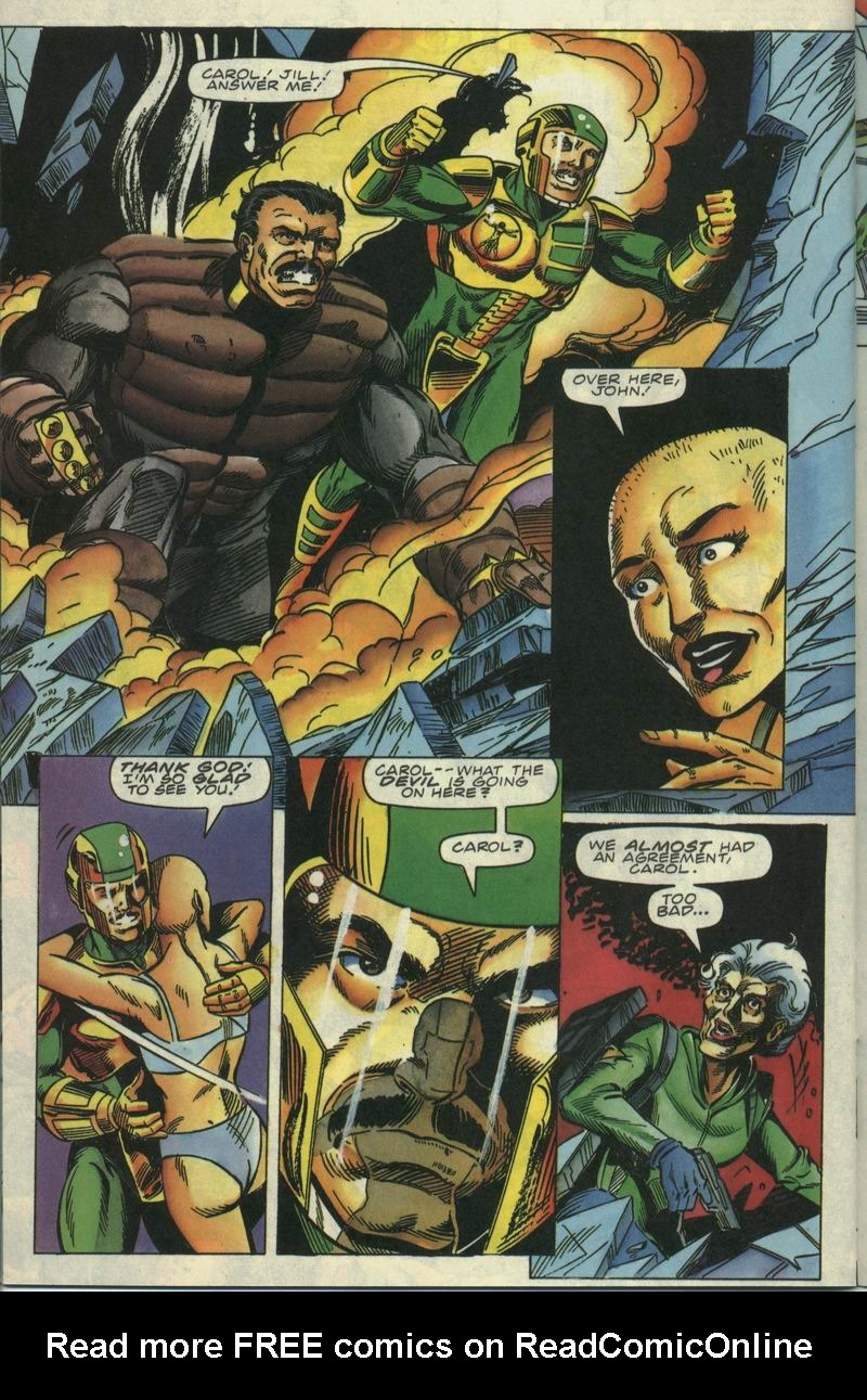 Read online Secret Weapons comic -  Issue #17 - 20