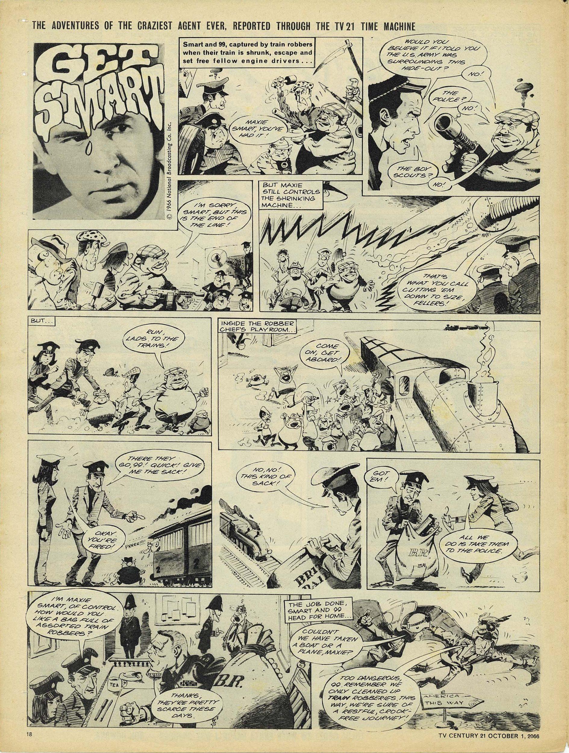 Read online TV Century 21 (TV 21) comic -  Issue #89 - 17