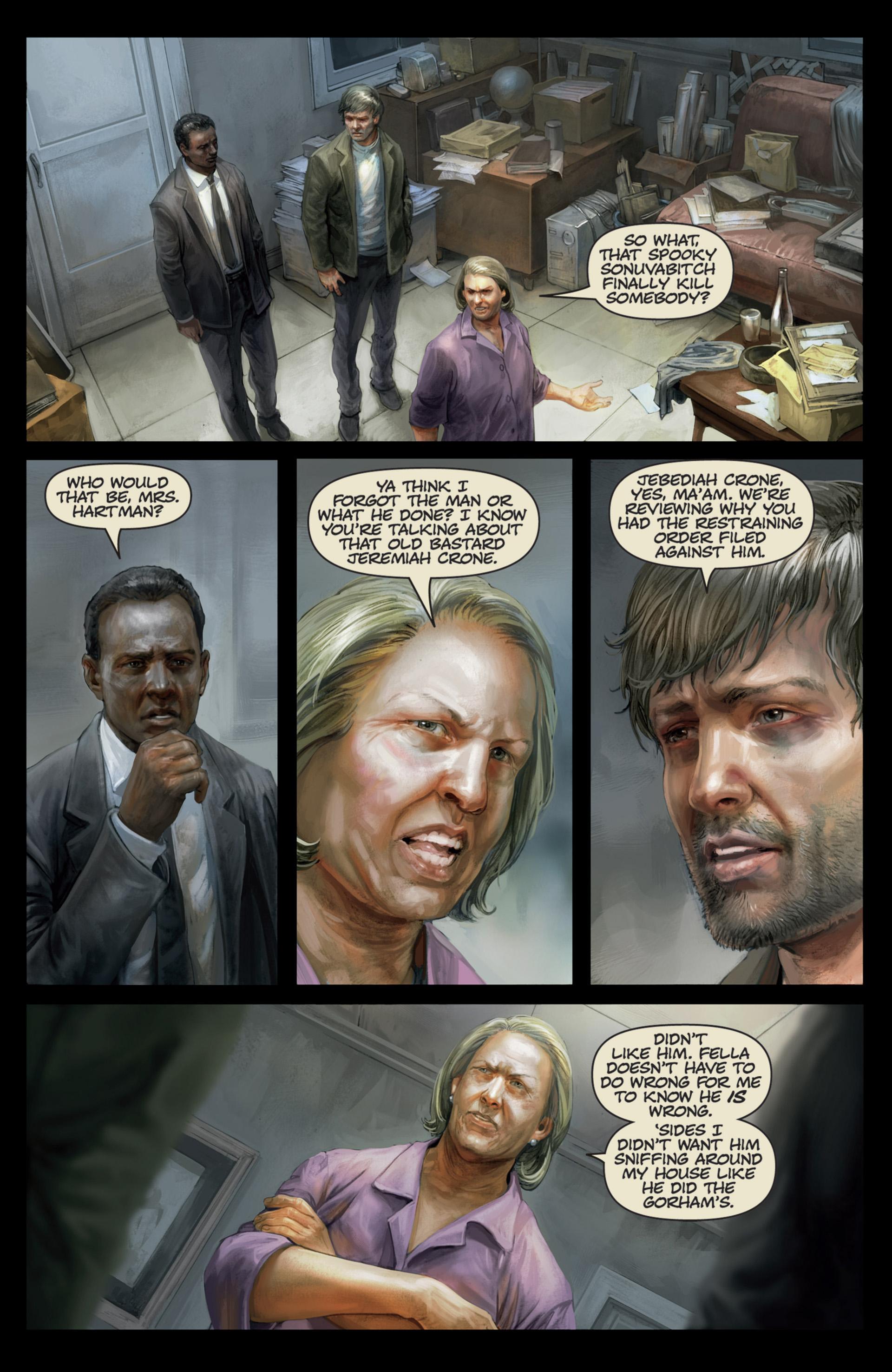 Read online Abattoir comic -  Issue #4 - 6
