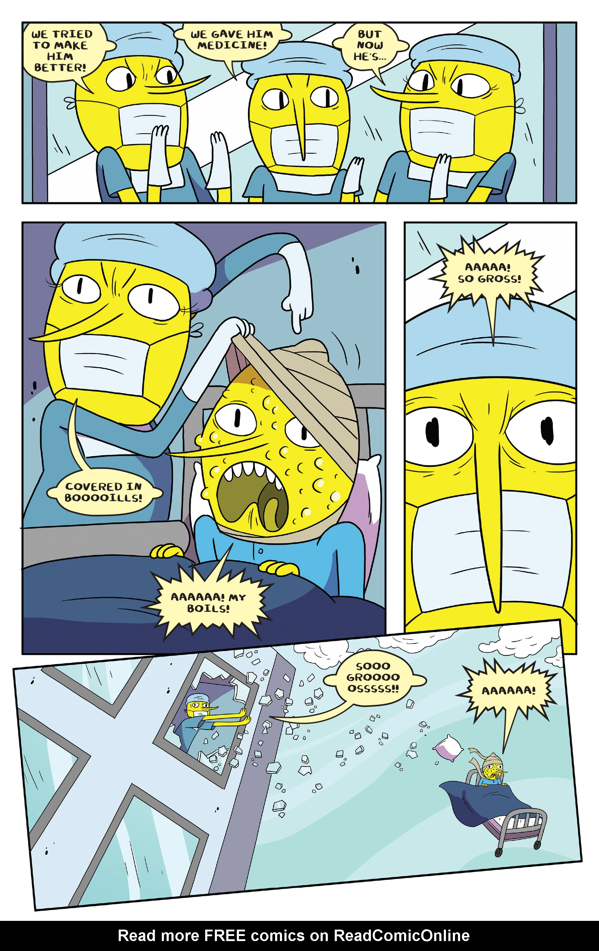 Read online Adventure Time comic -  Issue #55 - 8
