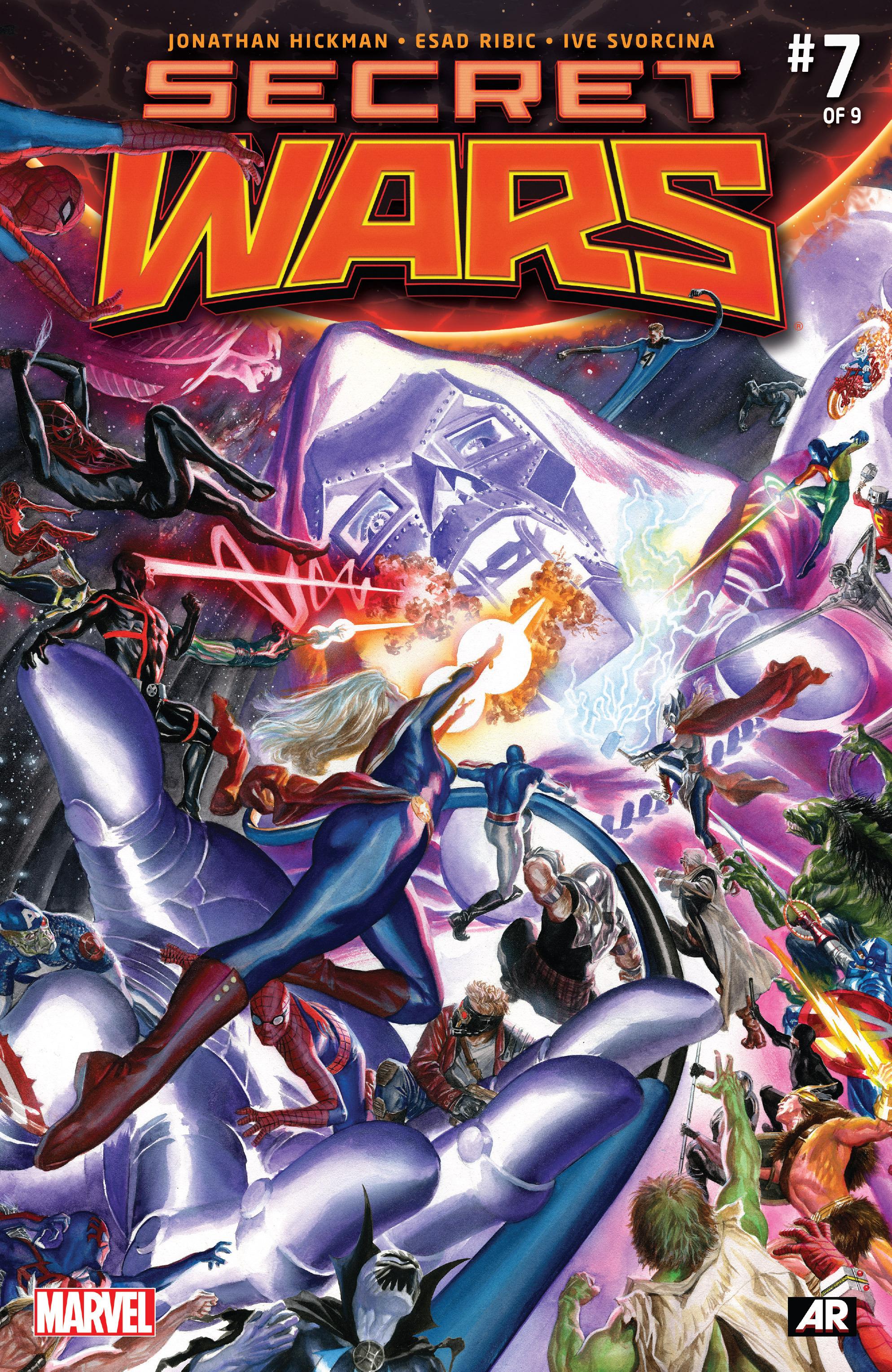 Read online Secret Wars comic -  Issue #7 - 1