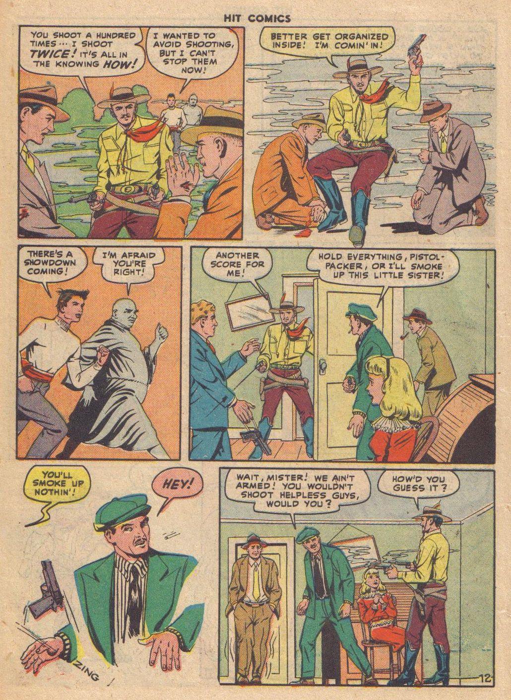 Read online Hit Comics comic -  Issue #46 - 14