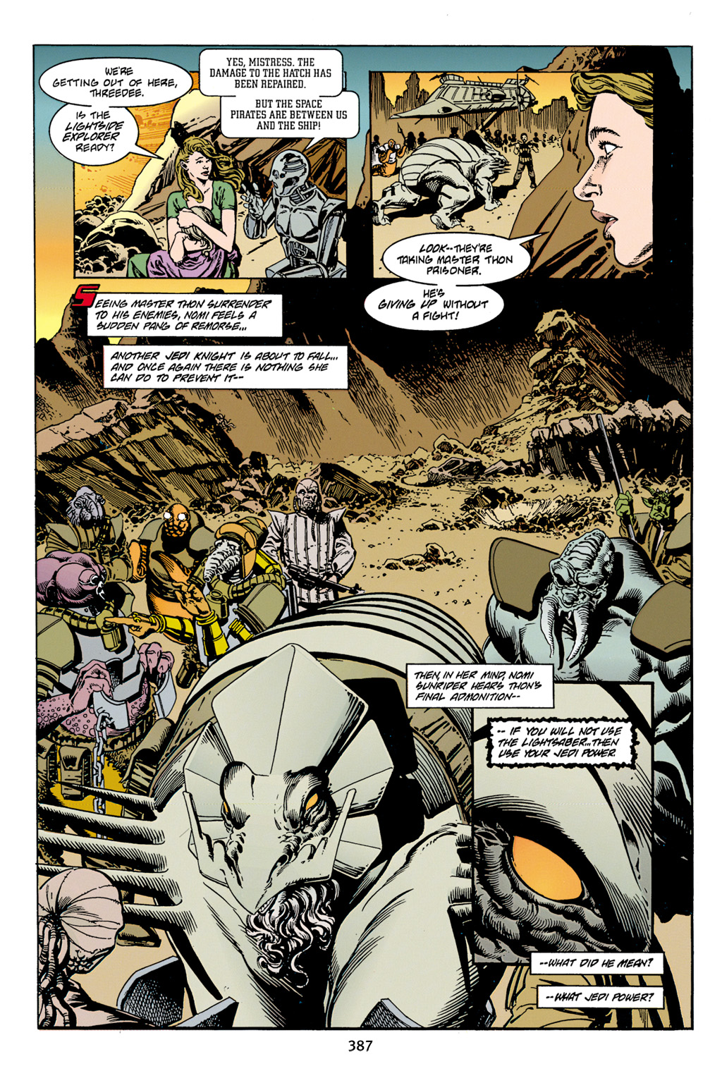Read online Star Wars Omnibus comic -  Issue # Vol. 4 - 375