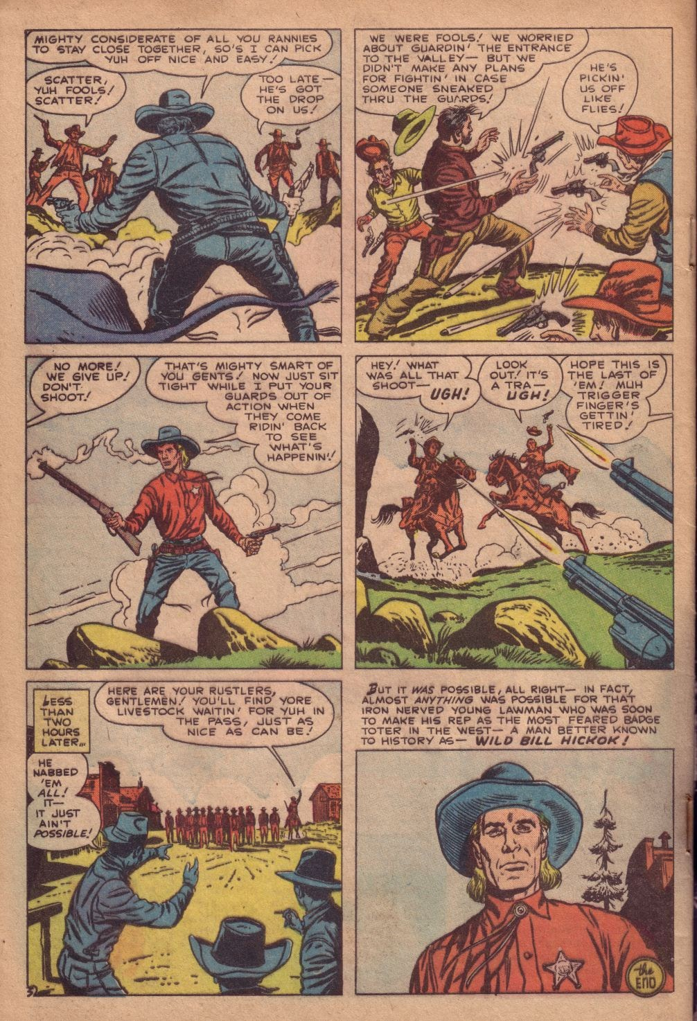 Gunsmoke Western issue 67 - Page 32