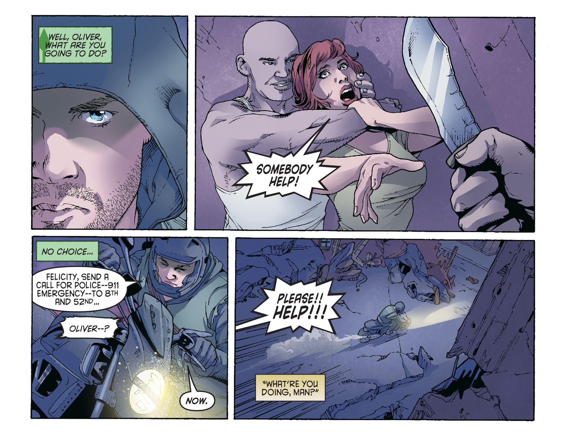Read online Arrow [II] comic -  Issue #36 - 11