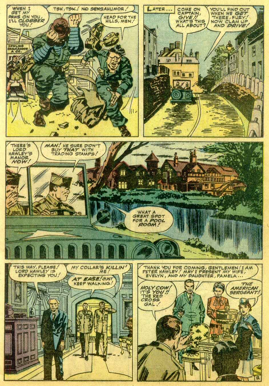 Read online Sgt. Fury comic -  Issue # _Annual 1 - 31