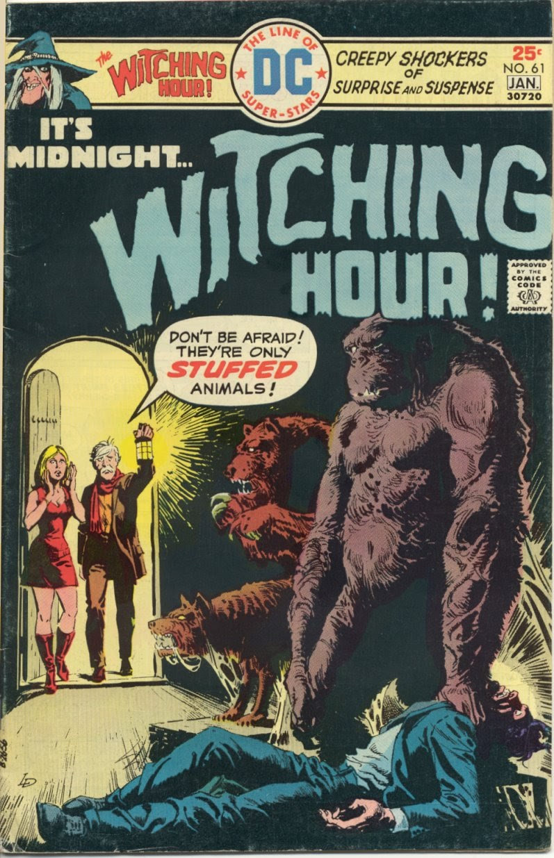 The Witching Hour (1969) issue 61 - Page 1