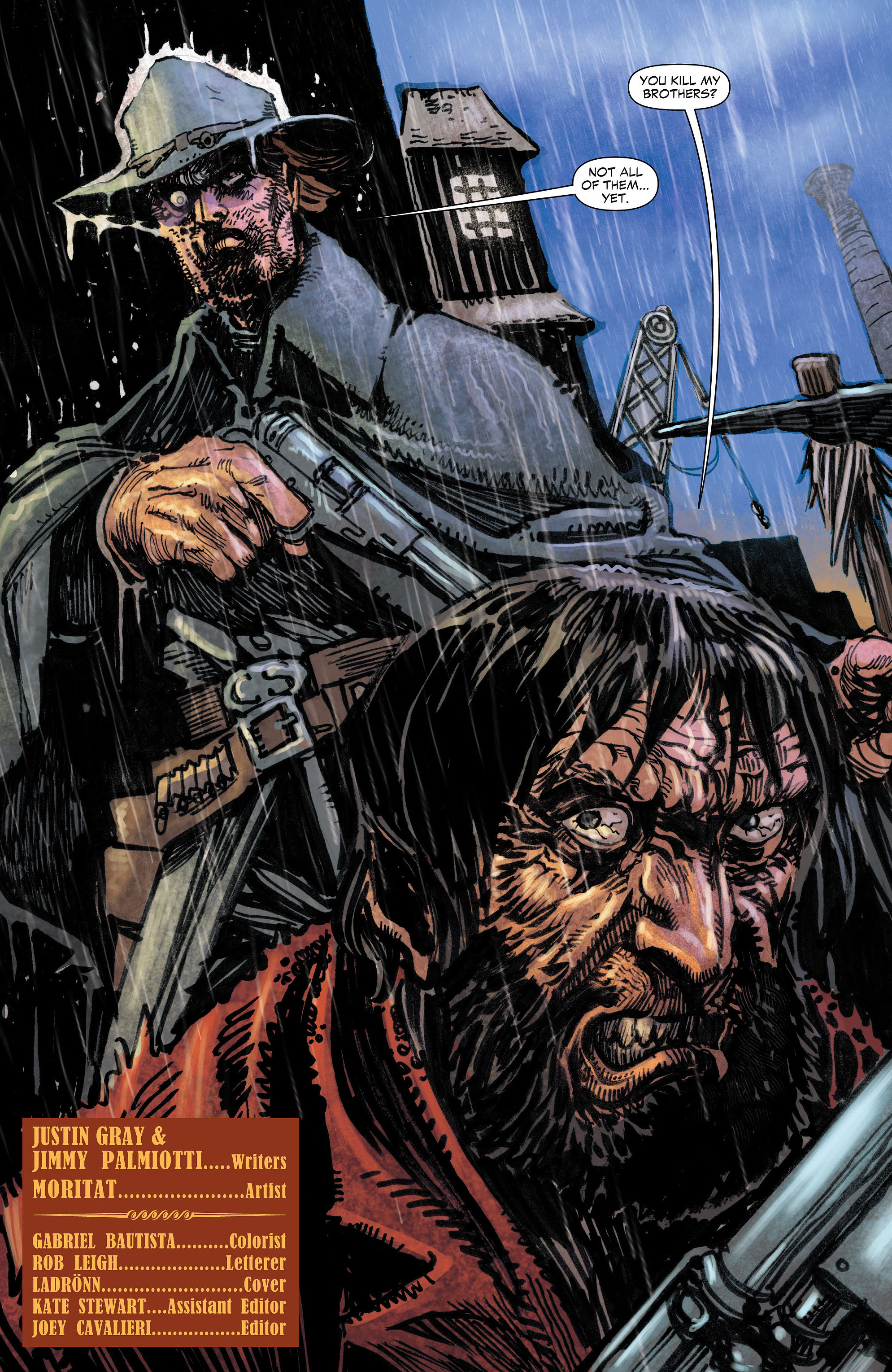 Read online All-Star Western (2011) comic -  Issue #4 - 5