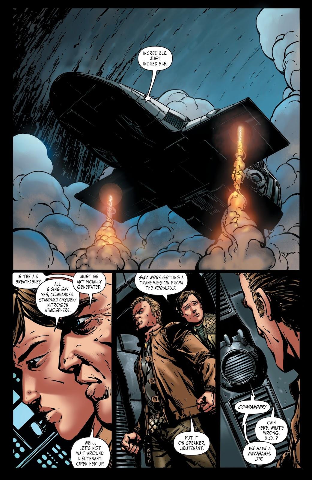 Battlestar Galactica BSG vs. BSG issue 1 - Page 13