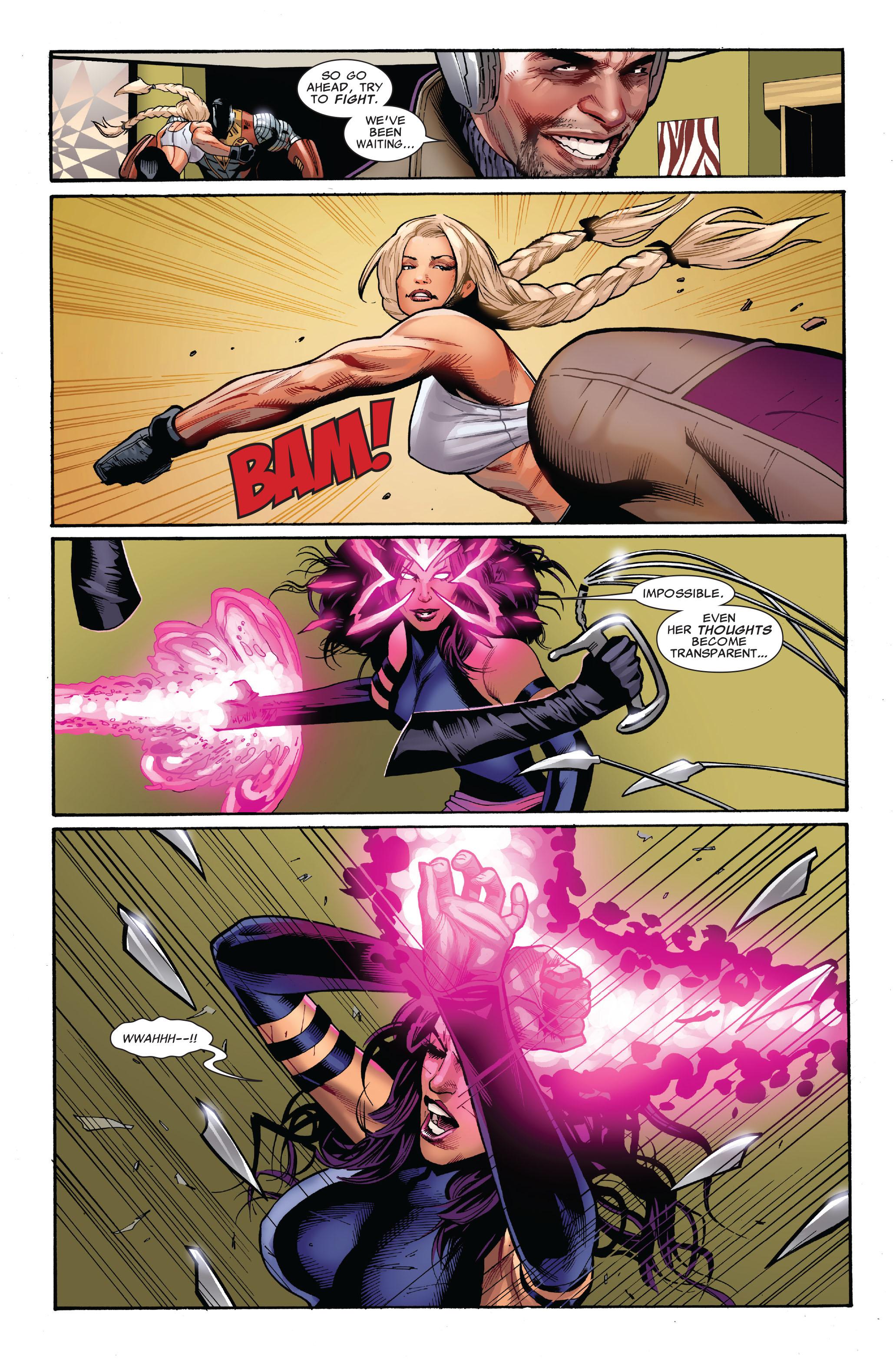 Read online Uncanny X-Men (1963) comic -  Issue #521 - 6