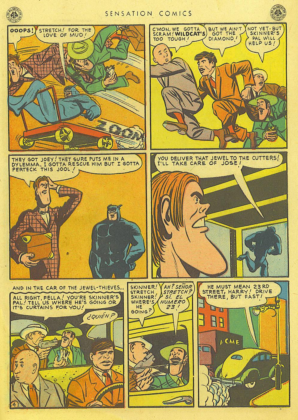 Read online Sensation (Mystery) Comics comic -  Issue #39 - 45
