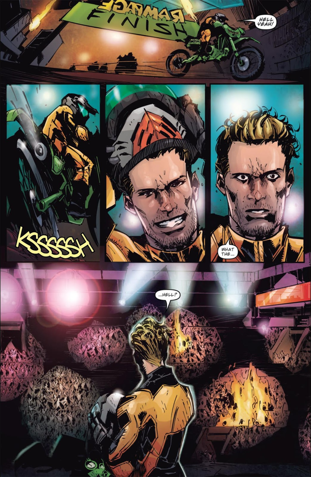Read online Dead Rising: Road to Fortune comic -  Issue #3 - 15