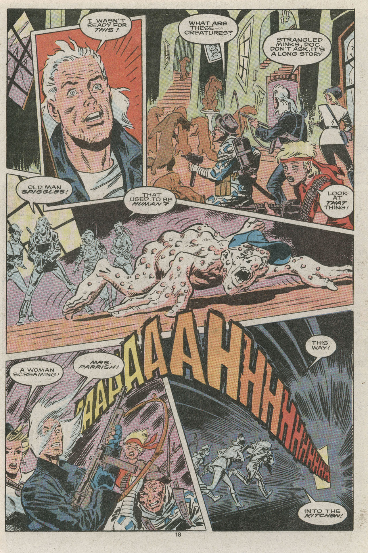 Read online Nth Man the Ultimate Ninja comic -  Issue #15 - 18
